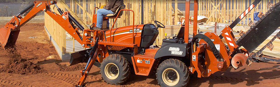 RT55 | Compact, Trenchers & Vibratory Plows | Ditch Witch Midwest