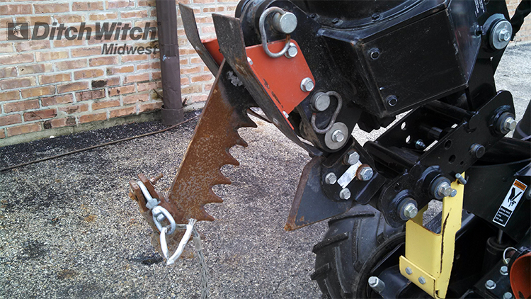 Zahn R300 Plow Ditch Witch Midwest